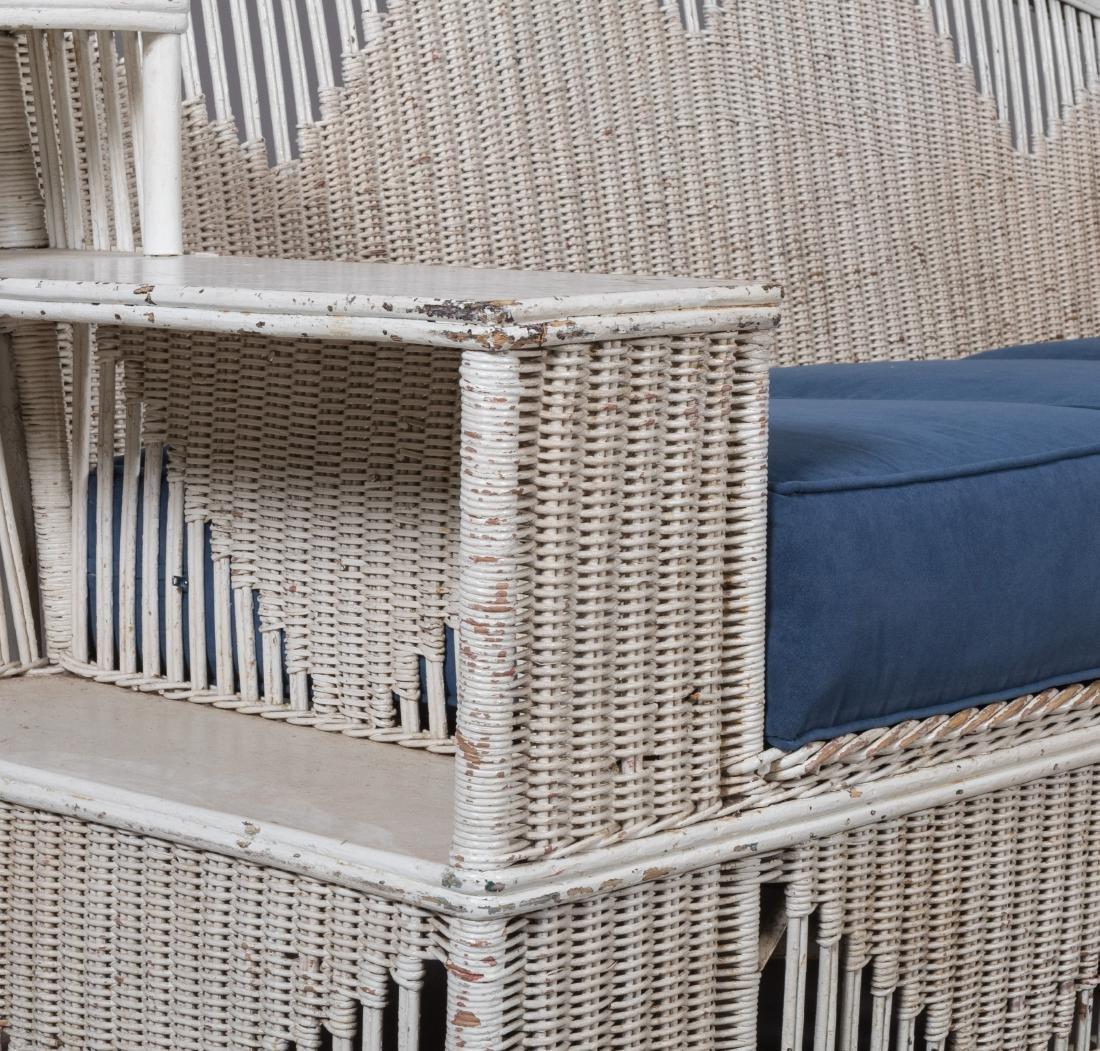 Four Piece Split Rattan and Wicker Porch Set - 2