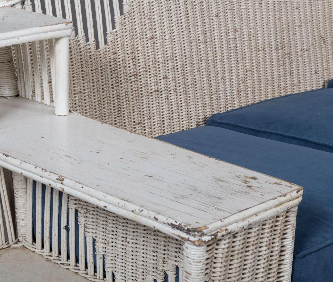 Four Piece Split Rattan and Wicker Porch Set - 3