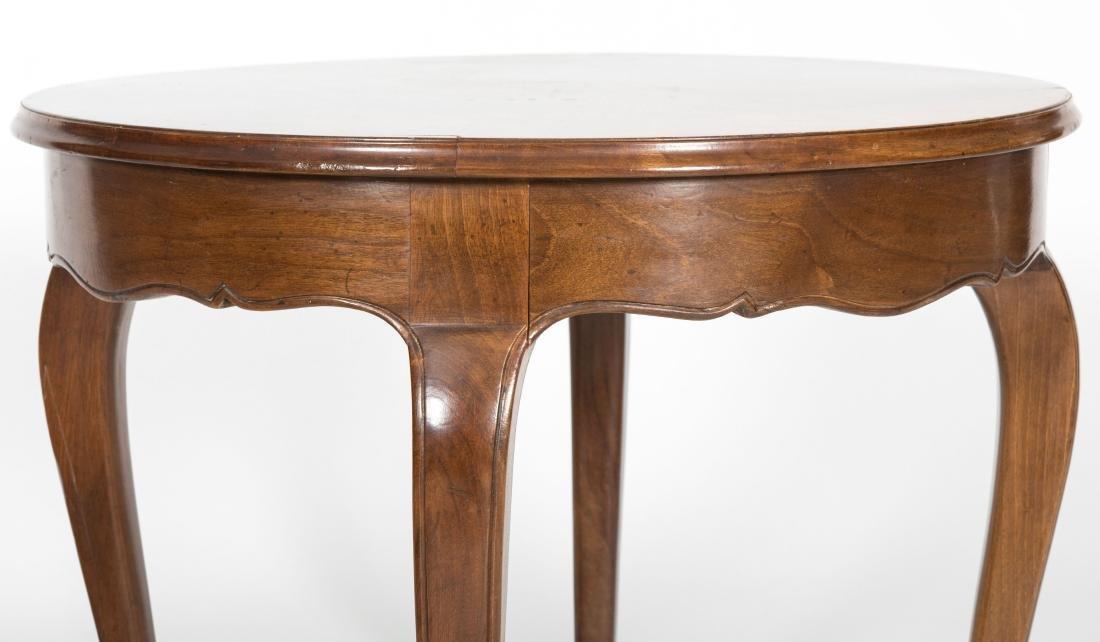 Jacobean Drop Leaf Table and Italian Table - 2
