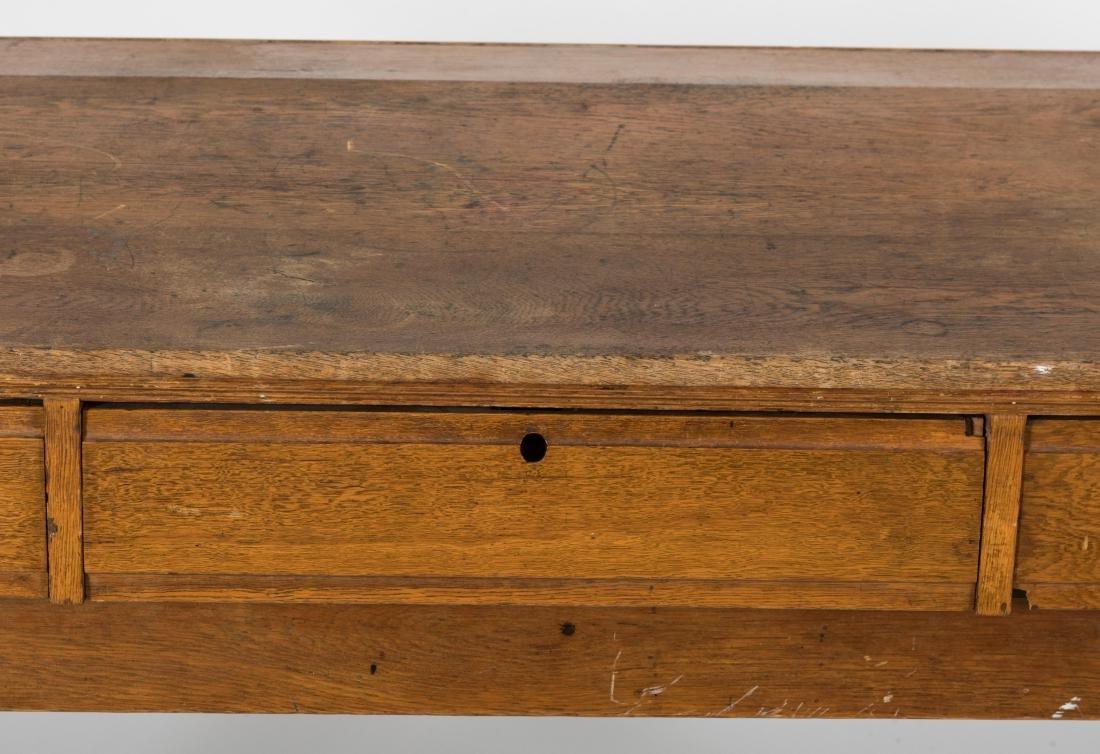 Oak Shippers Desk - 2