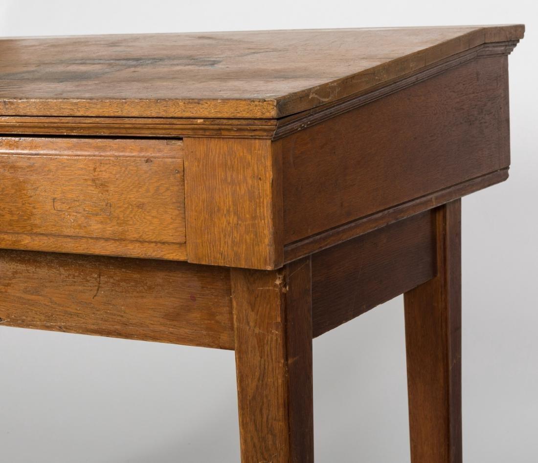 Oak Shippers Desk - 4