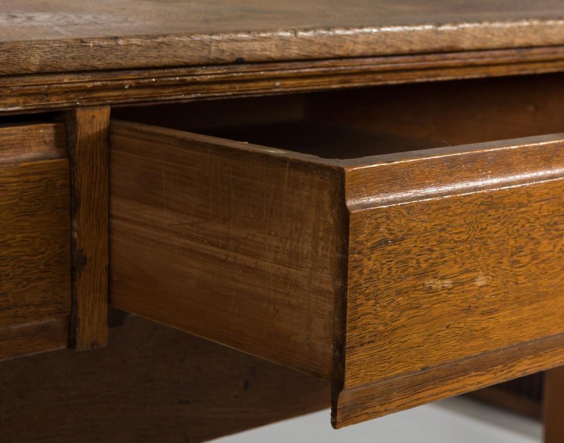 Oak Shippers Desk - 5