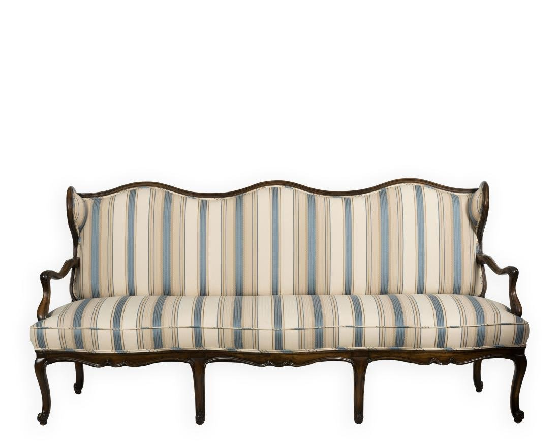 French Wingback Sofa