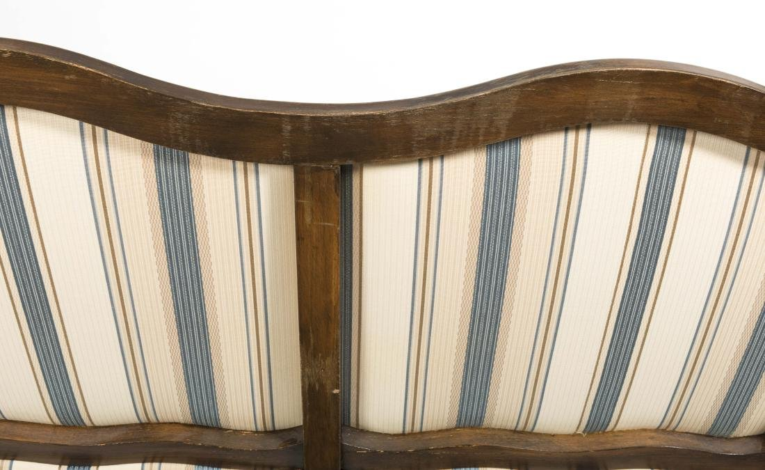 French Wingback Sofa - 3