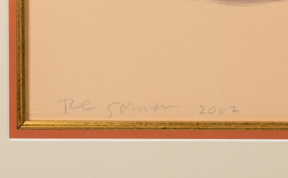 """R. C. Gorman - Lithograph - """"Enchantment"""" - 3"""