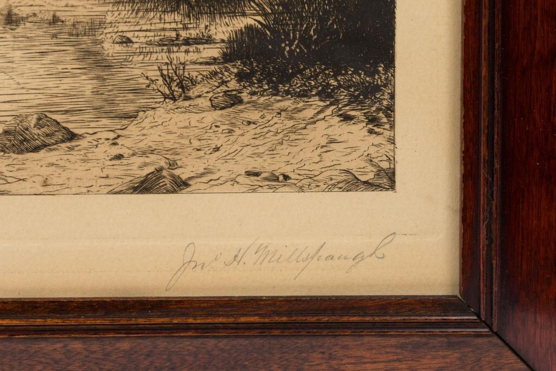 Three Framed Pieces Artwork - Hardin & Millspaugh - 4