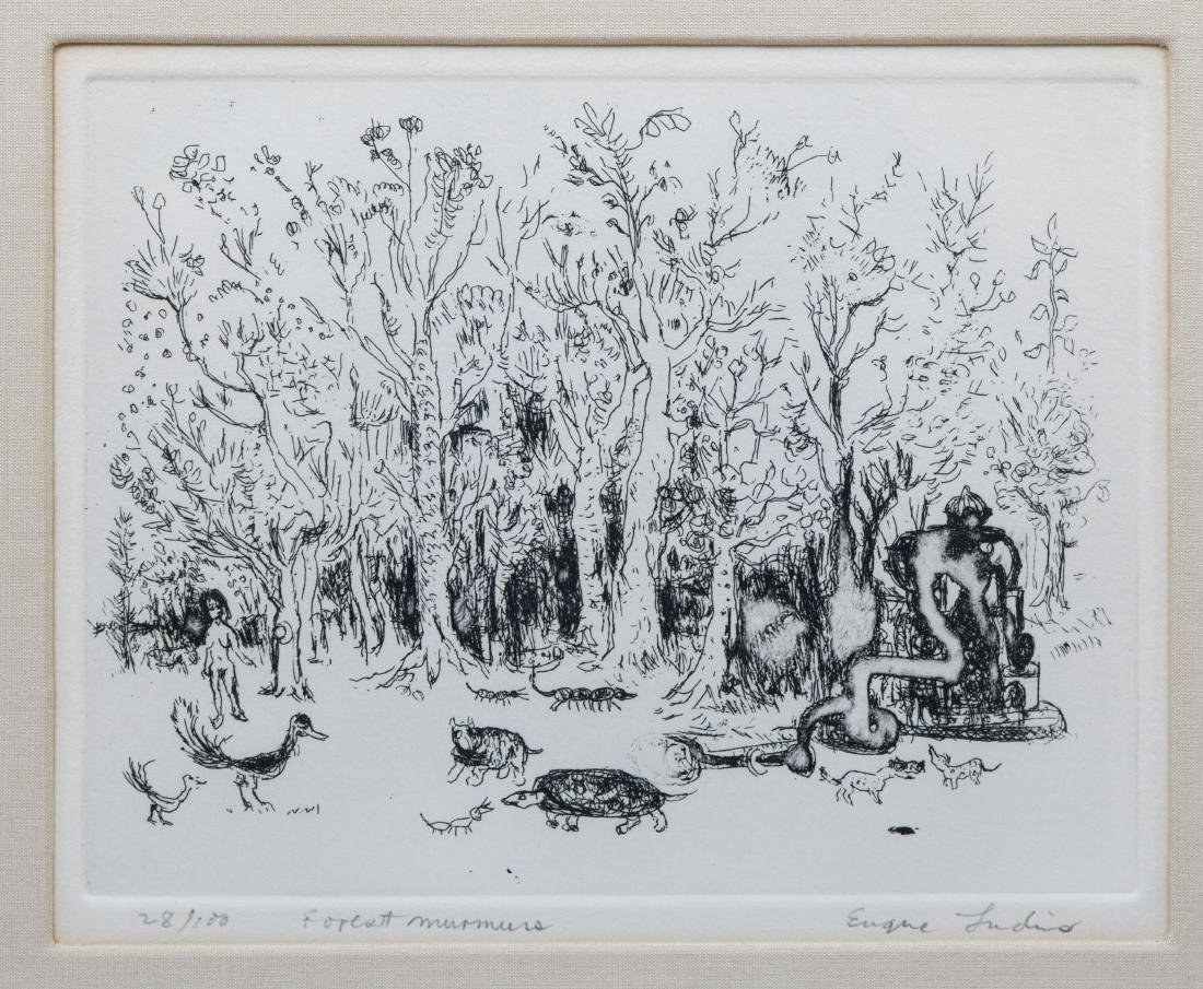 Four Signed Etchings - Plotkin - Ludins - 6