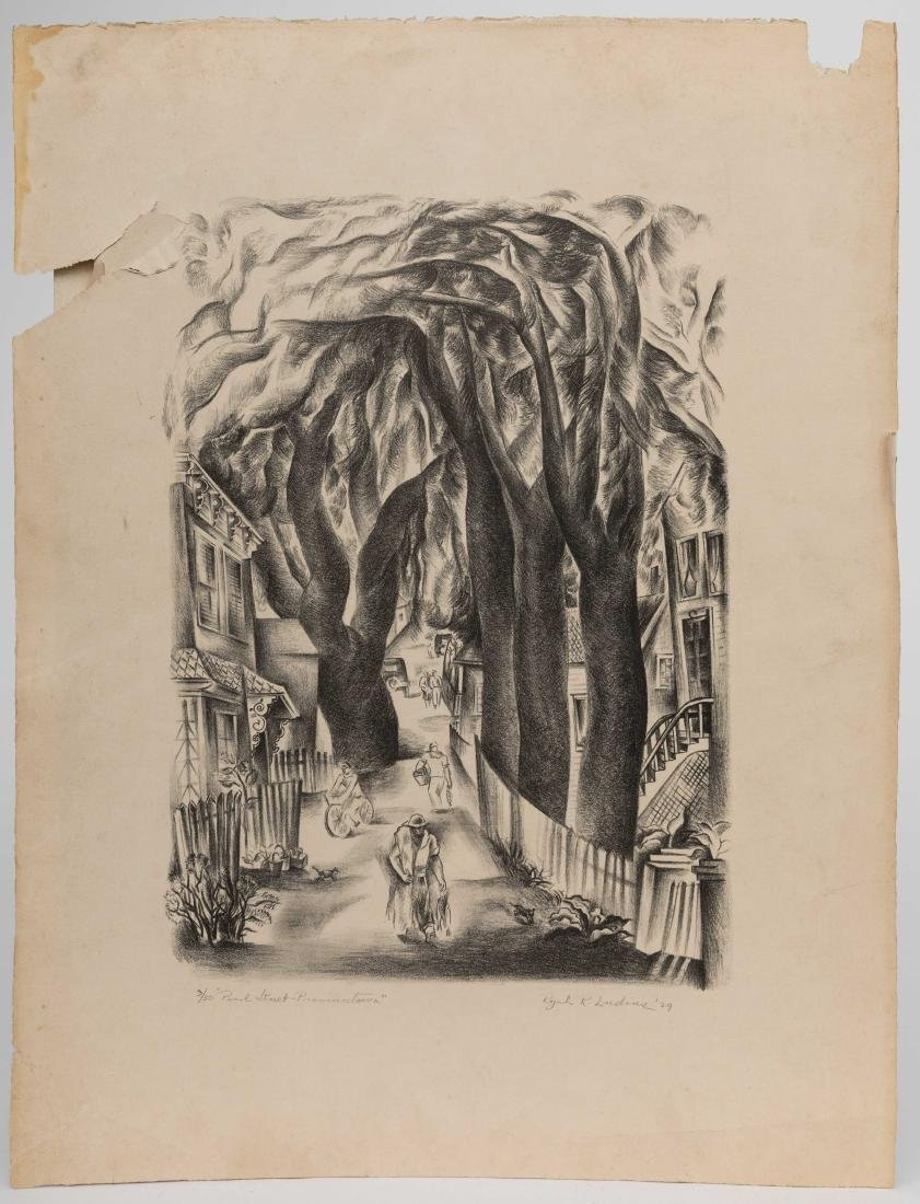 Ryah Ludins - Lithograph - Pearl Street - 3/50