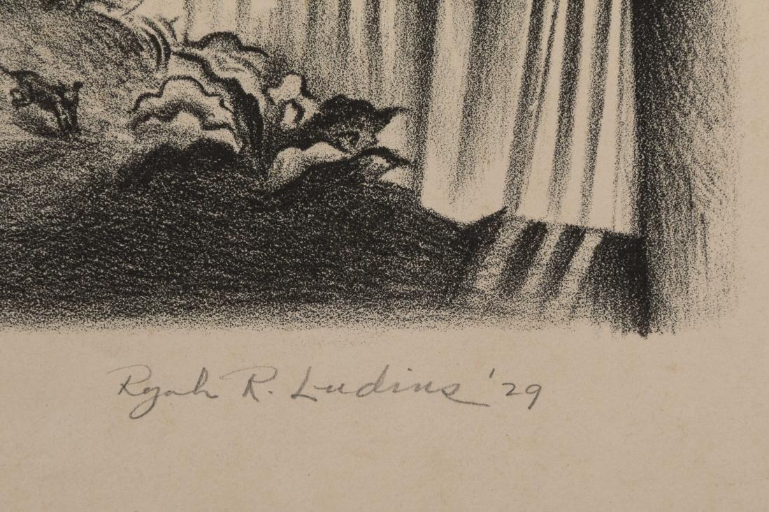 Ryah Ludins - Lithograph - Pearl Street - 3/50 - 3