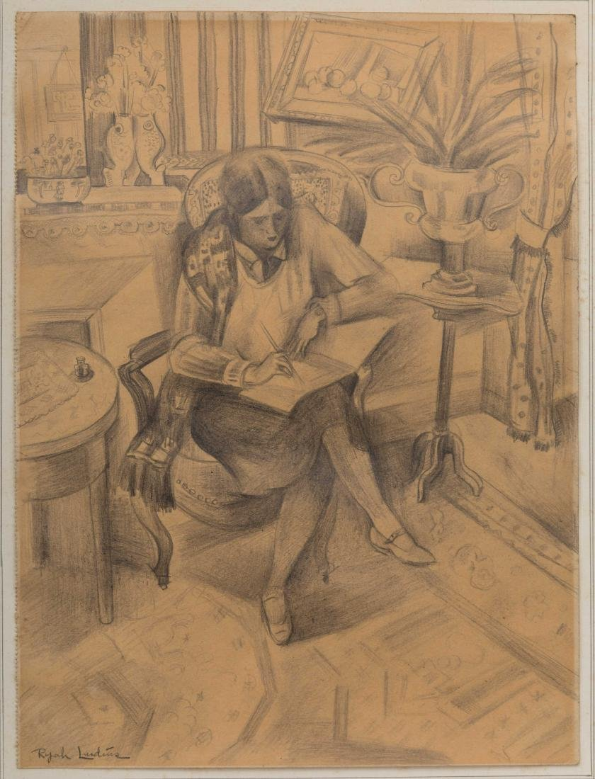 Ryah Ludins - Pencil Drawing - Signed - 2