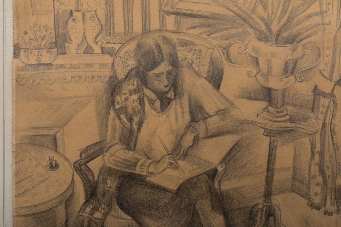 Ryah Ludins - Pencil Drawing - Signed - 4