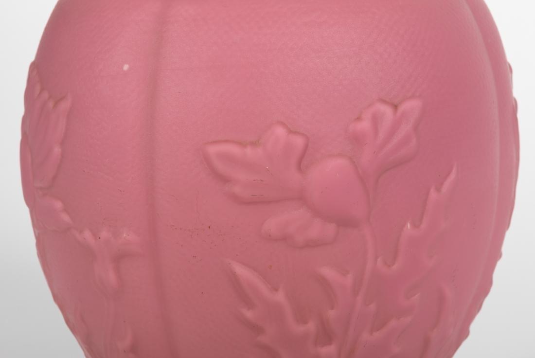 Victorian Floral Pink Banquet Lamp - 3
