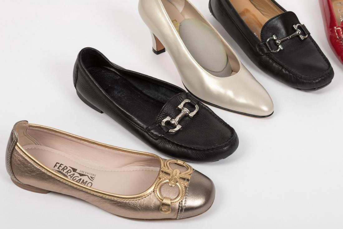 Salvatore Ferragamo - Ladies Shoes - Size 6 - 5
