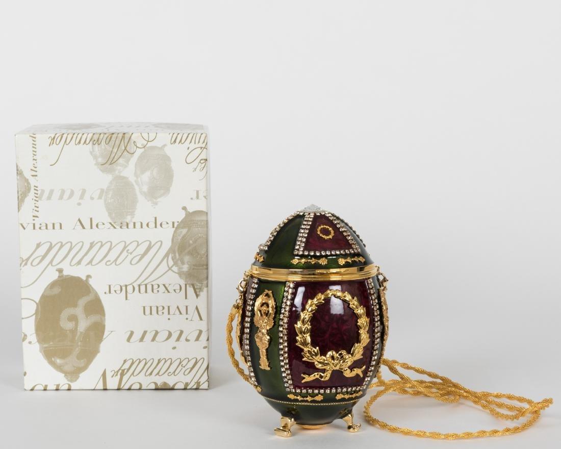 Vivian Alexander Egg Purse - Signed