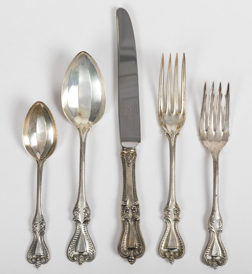 """42 Piece Towle """"Old Colonial"""" Sterling Flatware"""