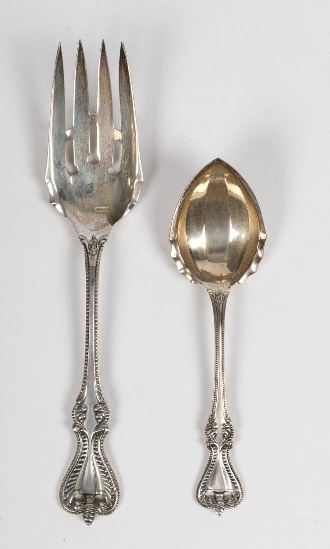"""42 Piece Towle """"Old Colonial"""" Sterling Flatware - 4"""