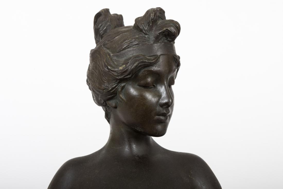 Emmanuel Villanis Bronze Bust - 2