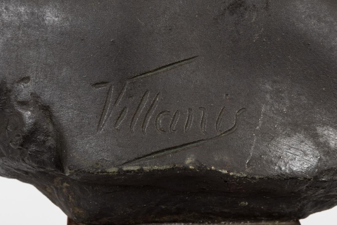Emmanuel Villanis Bronze Bust - 4