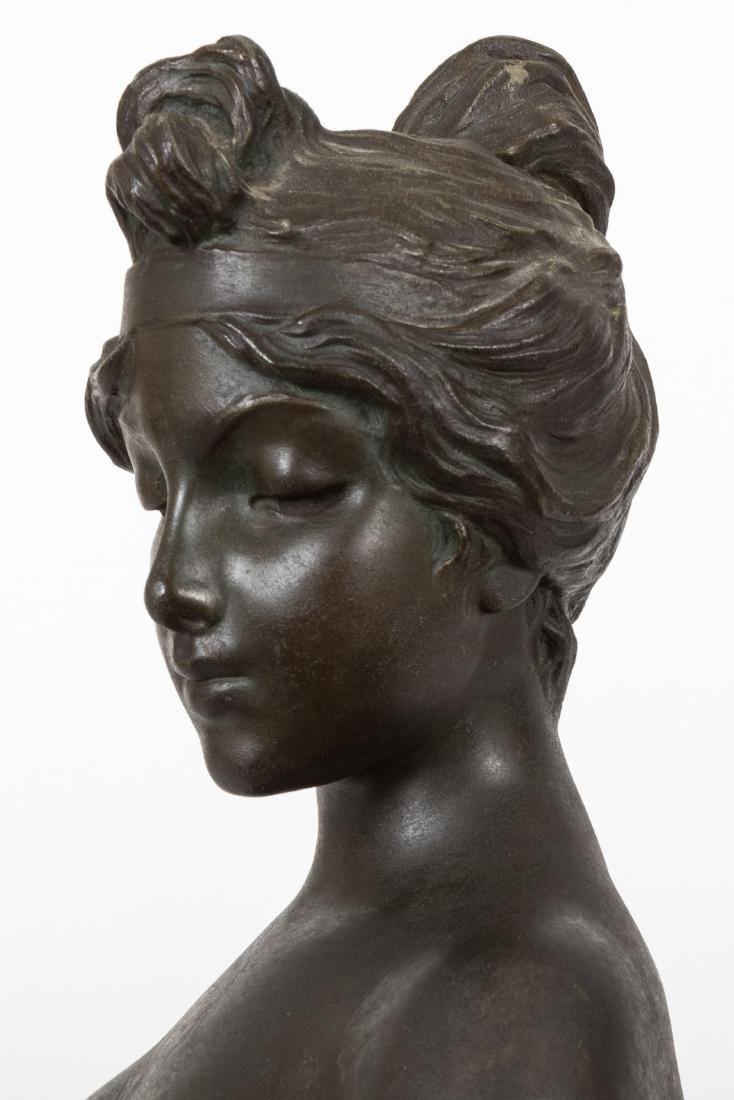 Emmanuel Villanis Bronze Bust - 6