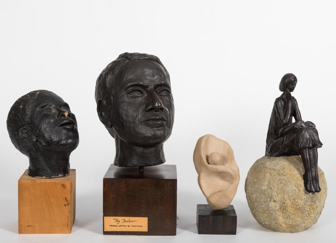 Four Composition Sculptures