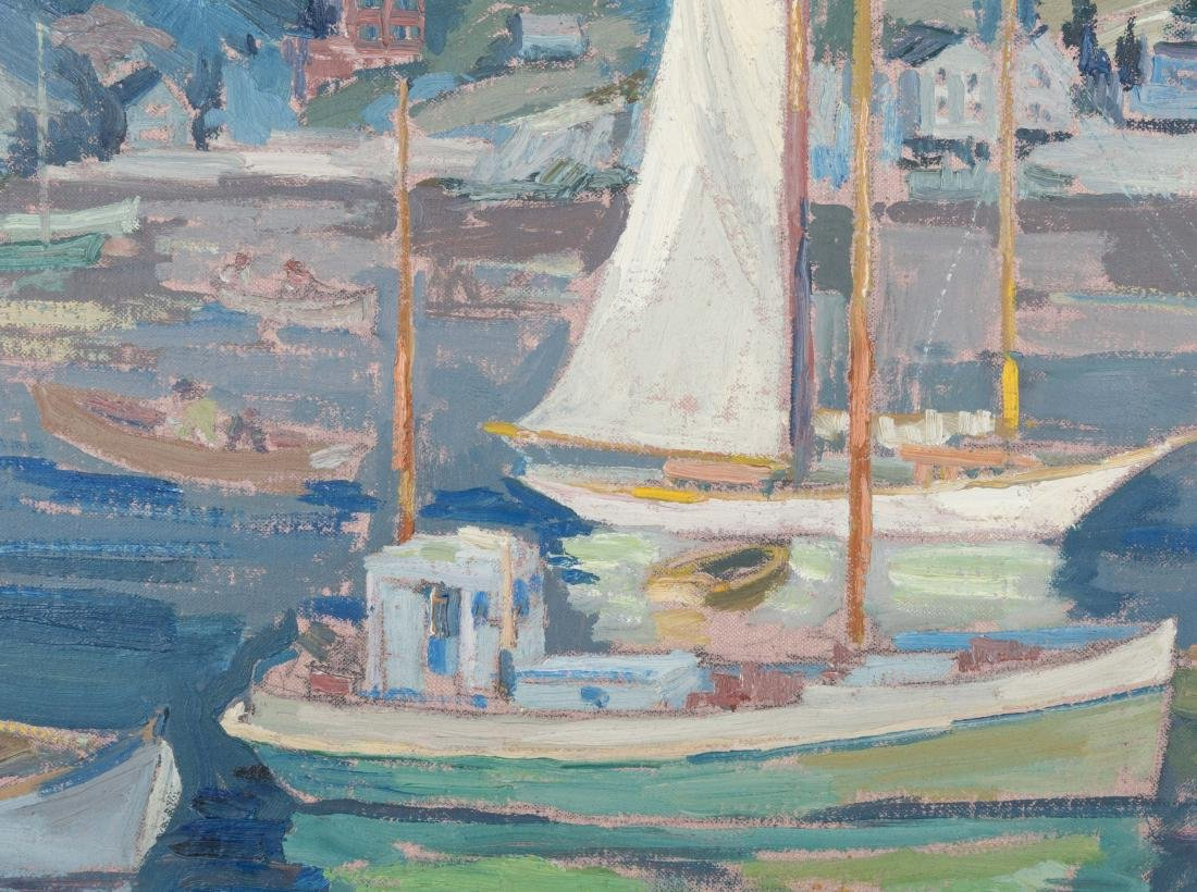 Peter Bela Mayer - Oil on Board - Monhegan, Maine - 3
