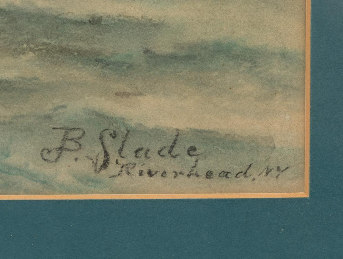 B. Slade - Riverhead, NY - Nautical Watercolor - 2