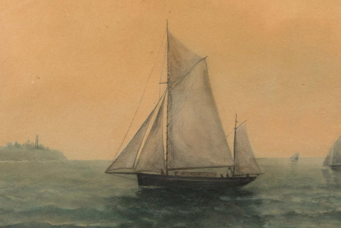 B. Slade - Riverhead, NY - Nautical Watercolor - 3