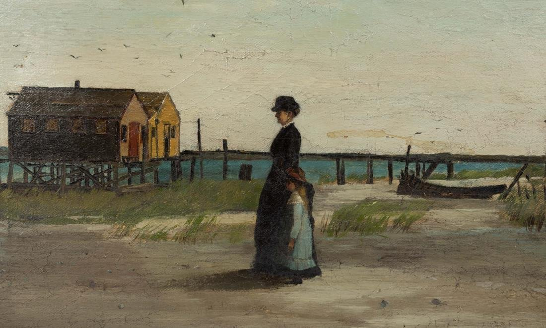 E. Baxter - Oil on Canvas - c. 1885 - 3