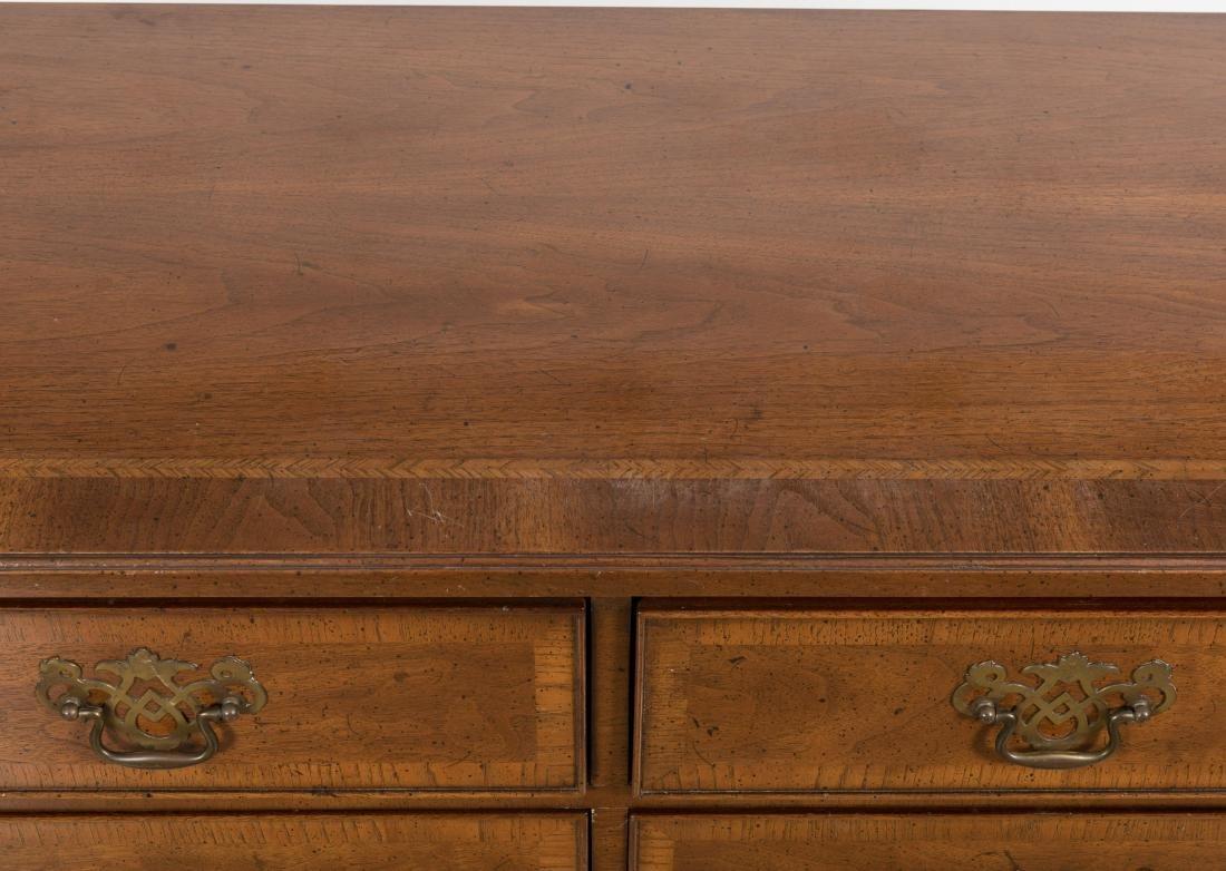 Henredon Banded Mahogany Dresser - 3