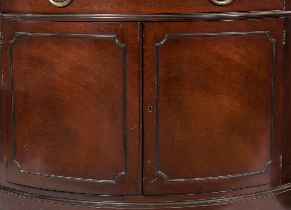 Pair Drexel Travis Court Corner Cabinets - 2