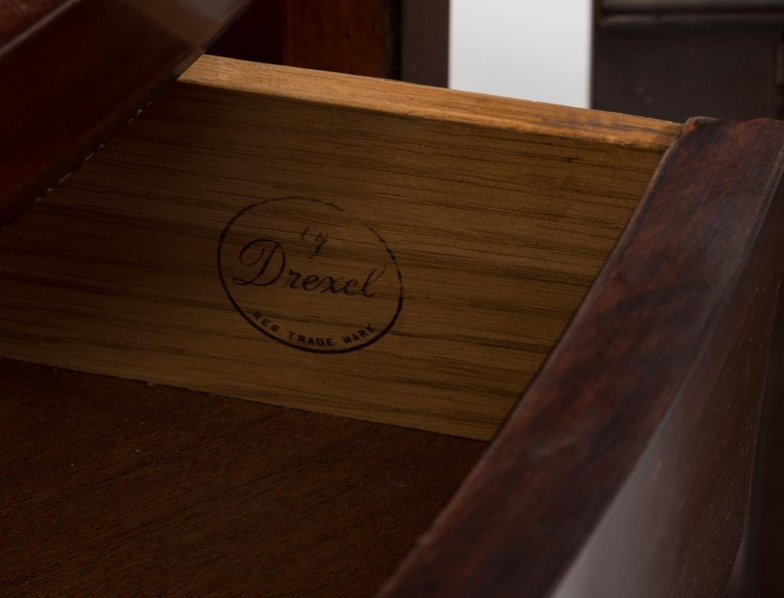 Pair Drexel Travis Court Corner Cabinets - 4
