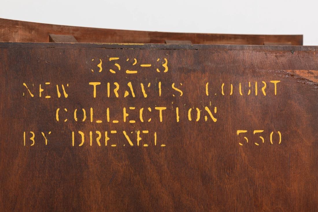 Pair Drexel Travis Court Corner Cabinets - 5