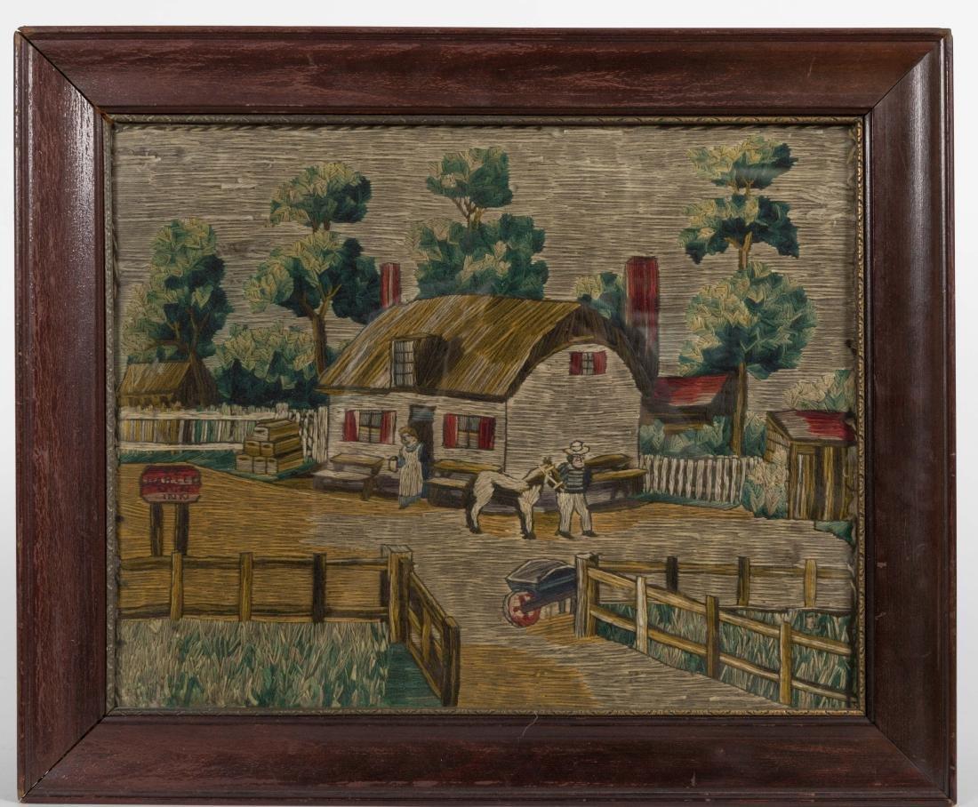 Needlepoint - Country Scene