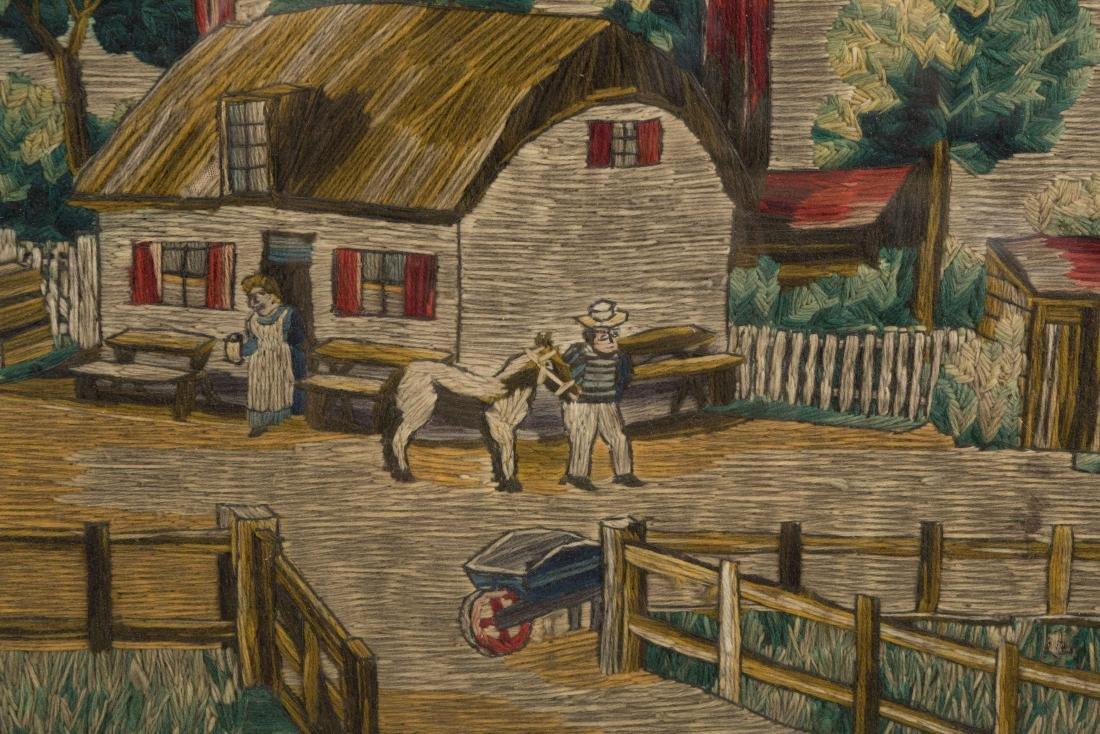 Needlepoint - Country Scene - 2