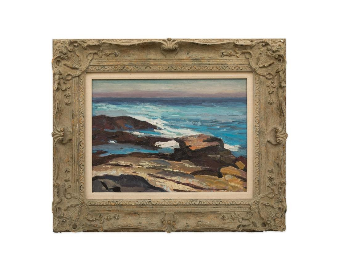Abraham Bogdanove - Oil on Board - Seascape