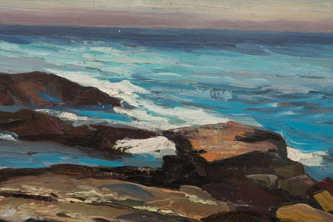Abraham Bogdanove - Oil on Board - Seascape - 4
