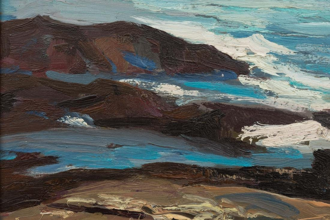 Abraham Bogdanove - Oil on Board - Seascape - 5