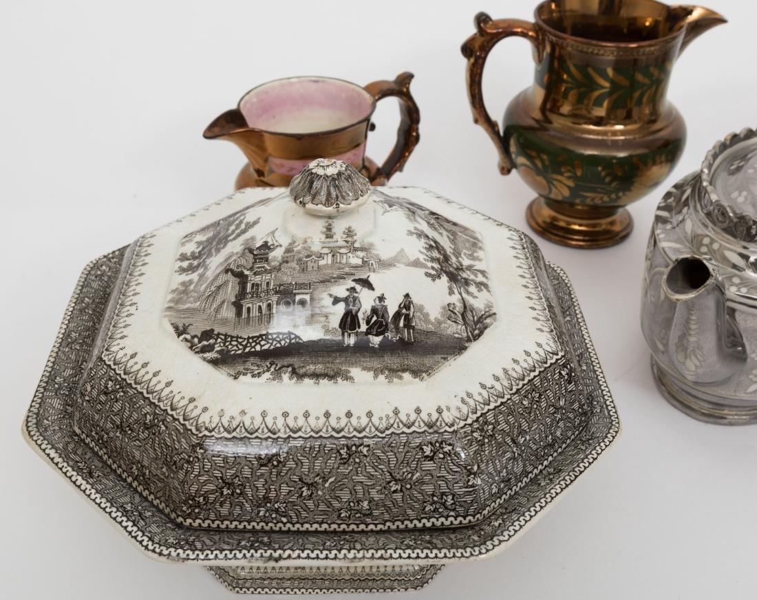Large Group English Soft Paste Porcelain - 4