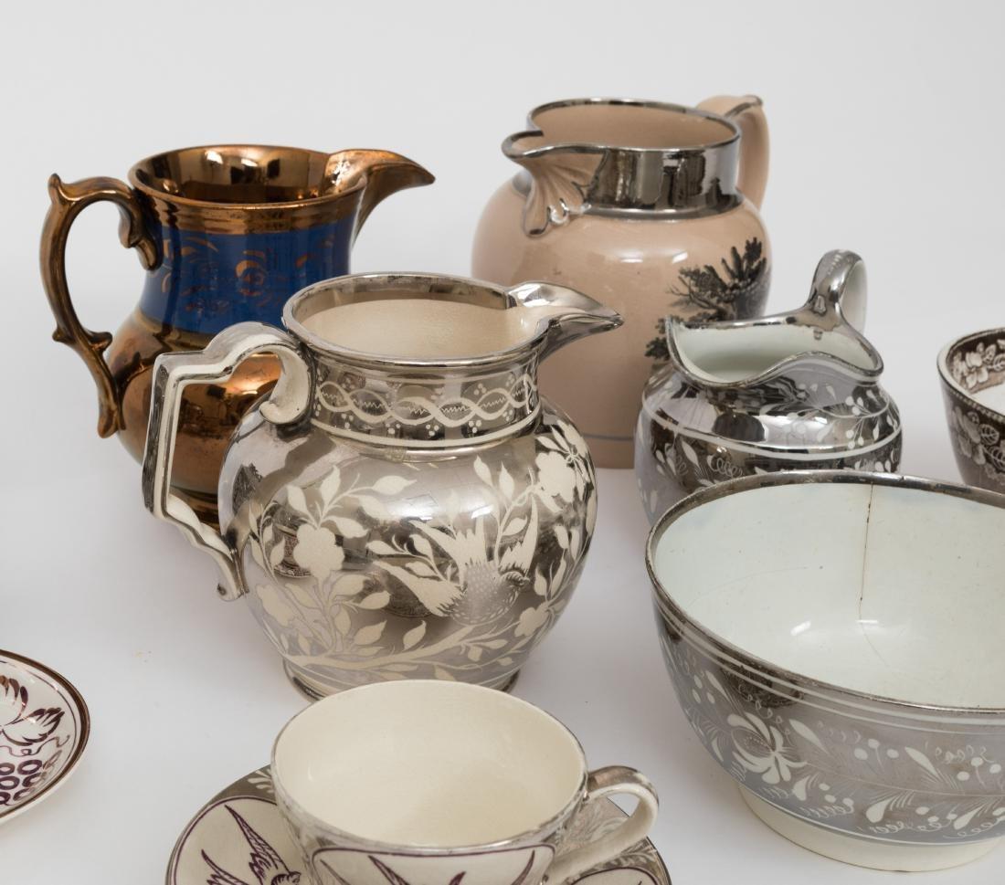 Large Group English Soft Paste Porcelain - 5