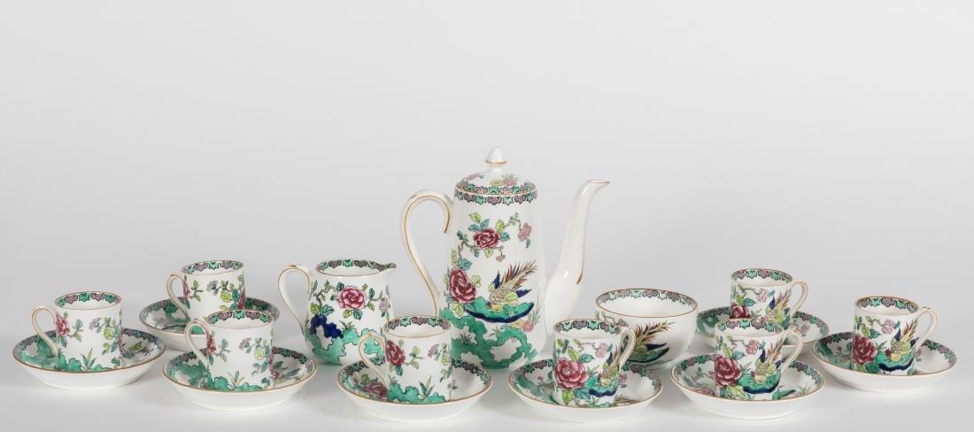 Staffordshire Bone China Tea Set - 19 Piece