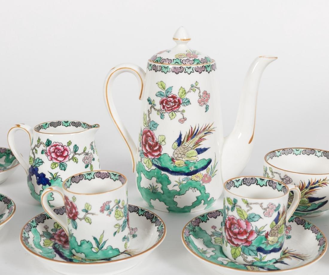 Staffordshire Bone China Tea Set - 19 Piece - 2