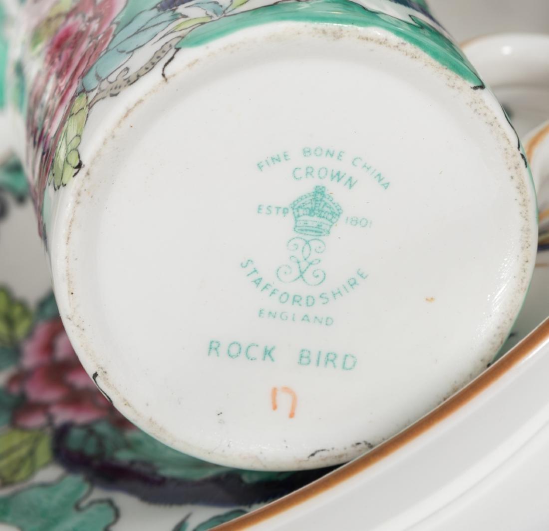 Staffordshire Bone China Tea Set - 19 Piece - 4