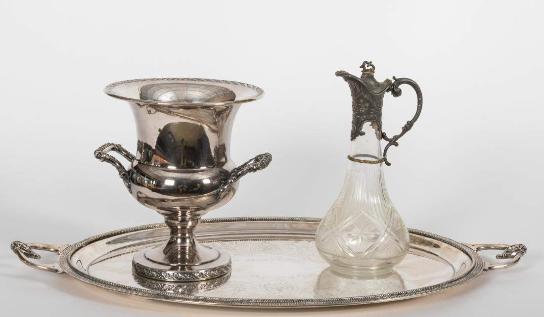 Group of Silverplate