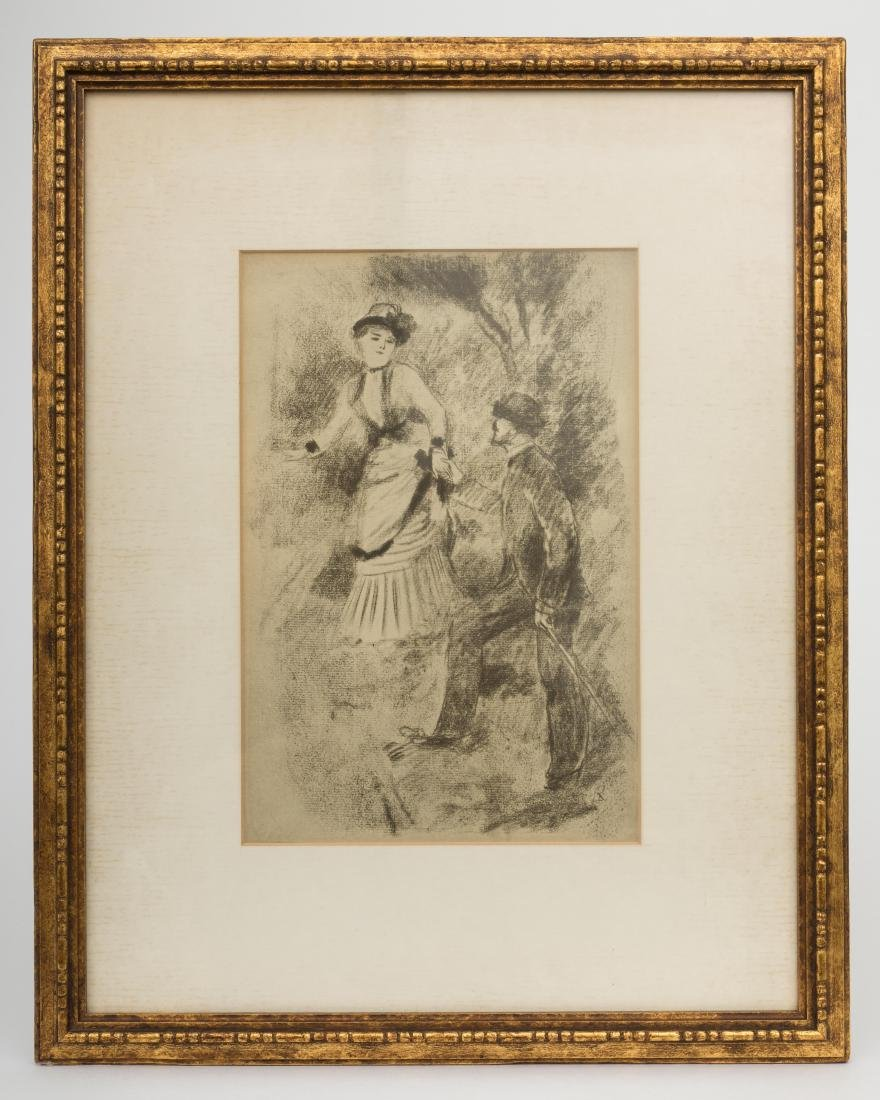 After Renoir - Descent from the Summit - Litho