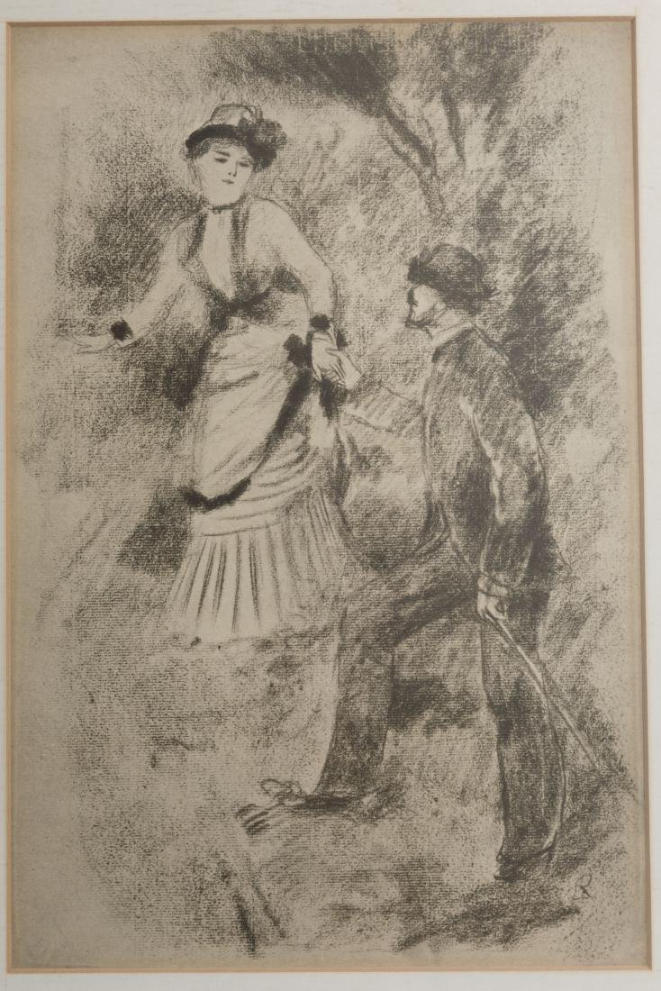 After Renoir - Descent from the Summit - Litho - 2
