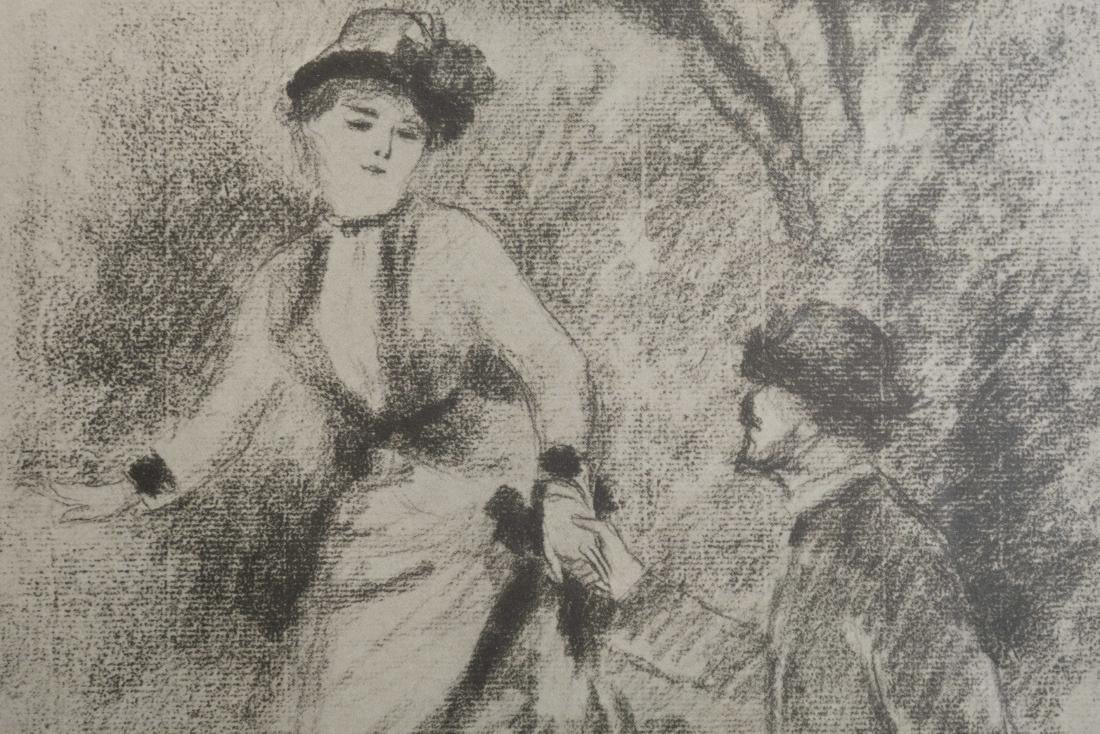 After Renoir - Descent from the Summit - Litho - 4