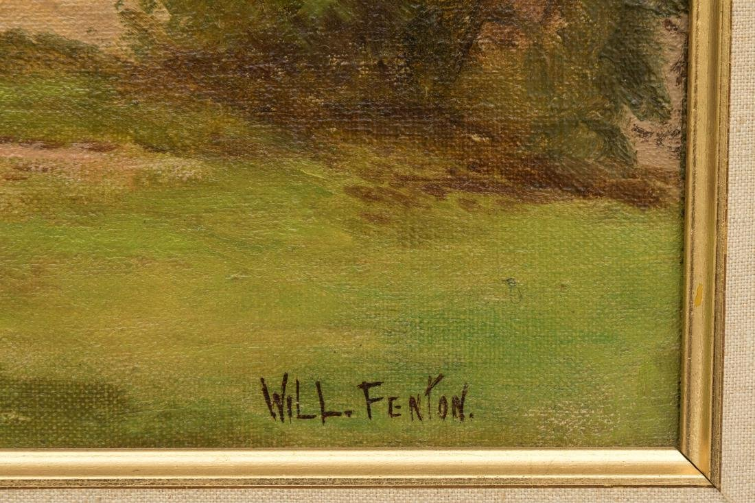Will Fenton - Oil on Canvas - Signed - 3