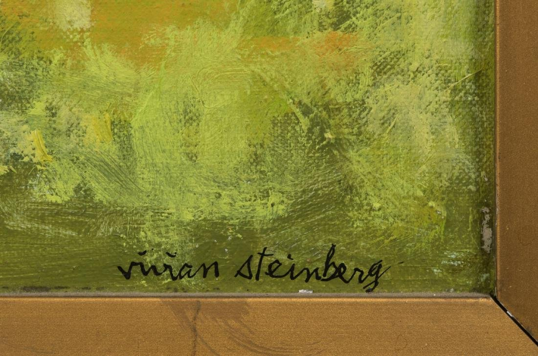 Vivian Steinberg - Oil on Board - 3