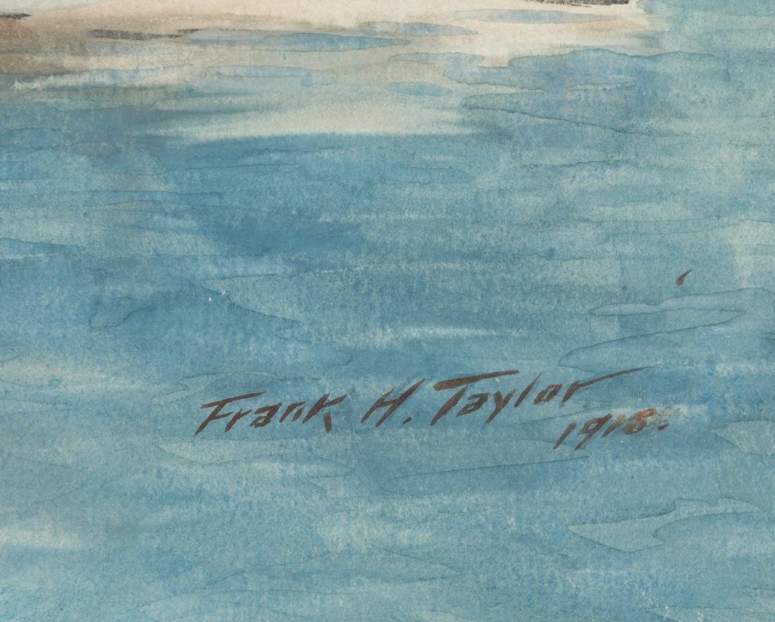 """Frank Hamilton Taylor - Watercolor - """"Rowena"""" - 2"""