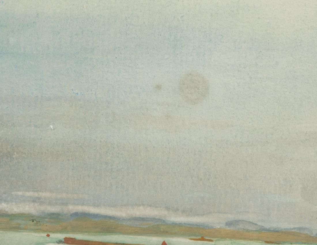 """Frank Hamilton Taylor - Watercolor - """"Rowena"""" - 6"""